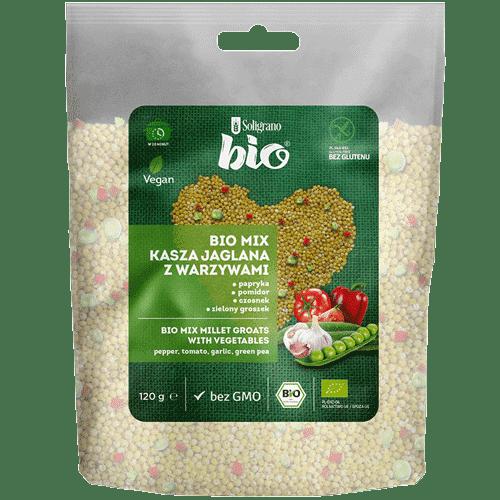 BIO MIX kasza jaglana z warzywami