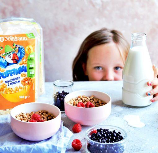 Puffinki - sugerowane śniadanie dla dzieci