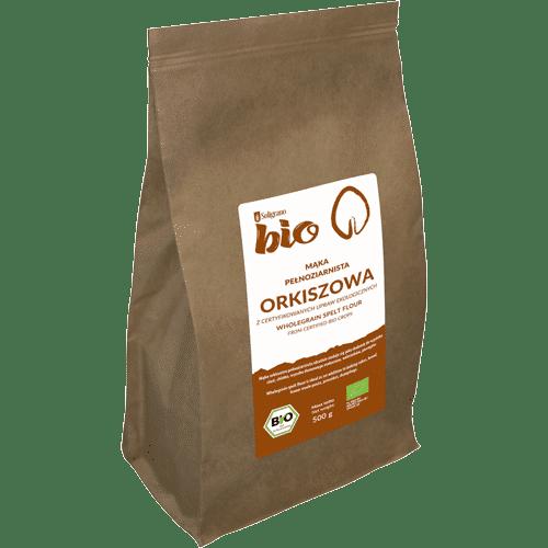 mąka orkiszowa pełnoziarnista