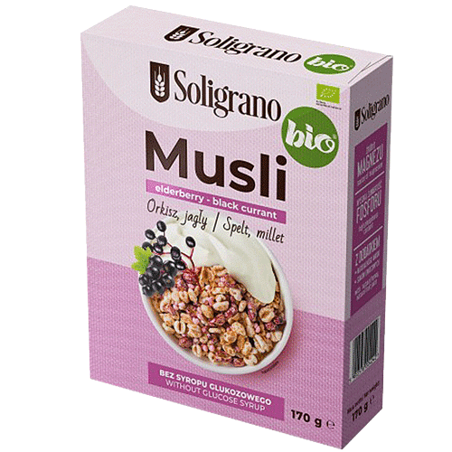 Musli elderberry black currant