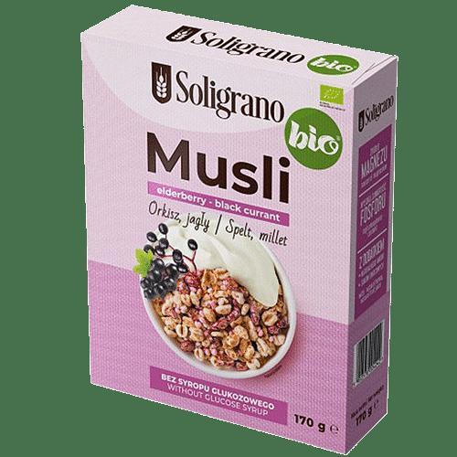 Musli elderberry black currant