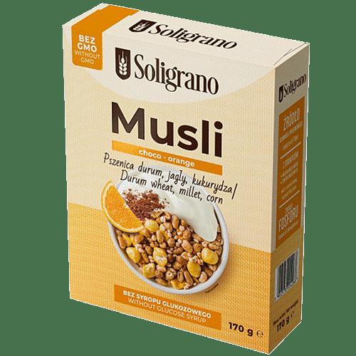 Musli choco orange