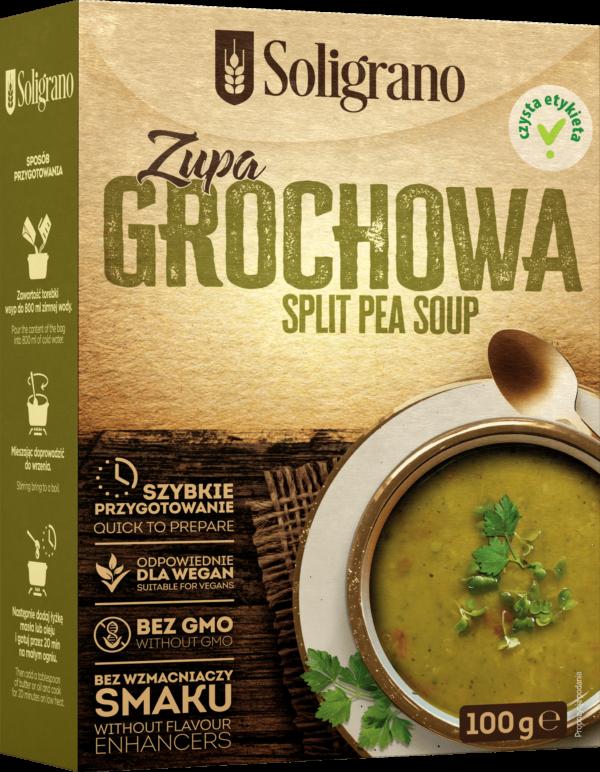 Zupa grochowa Soligrano